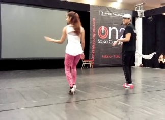 1minutesalsa Adolfo Indacochea & Tania Cannarsa On 2 workshop - Salsa Congress