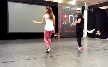 1minutesalsa Adolfo Indacochea & Tania Cannarsa On 2 workshop - Salsa Congress